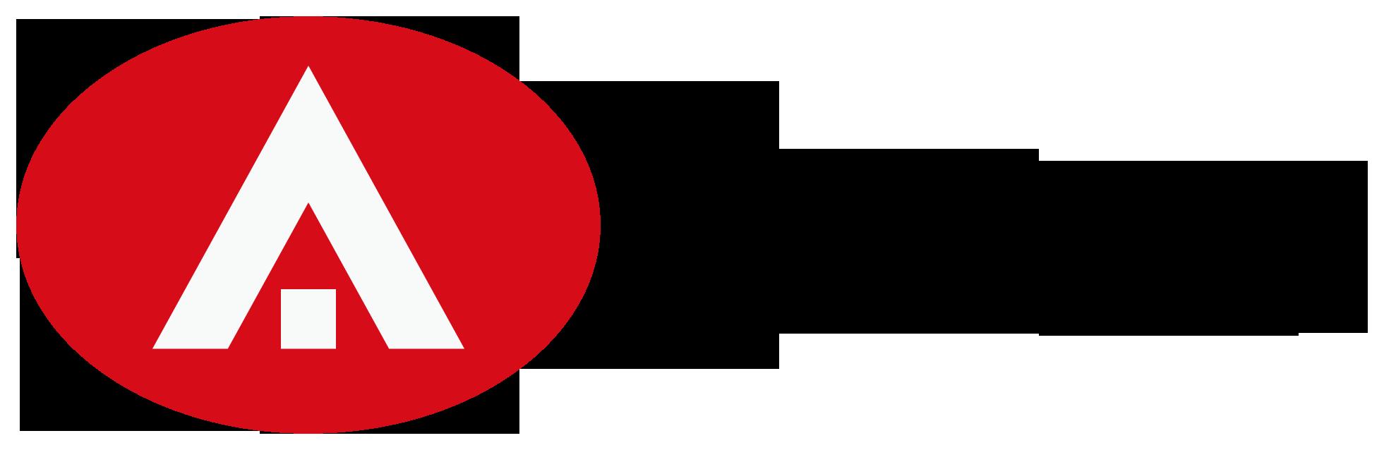 士業全般とシンプルと赤のロゴ