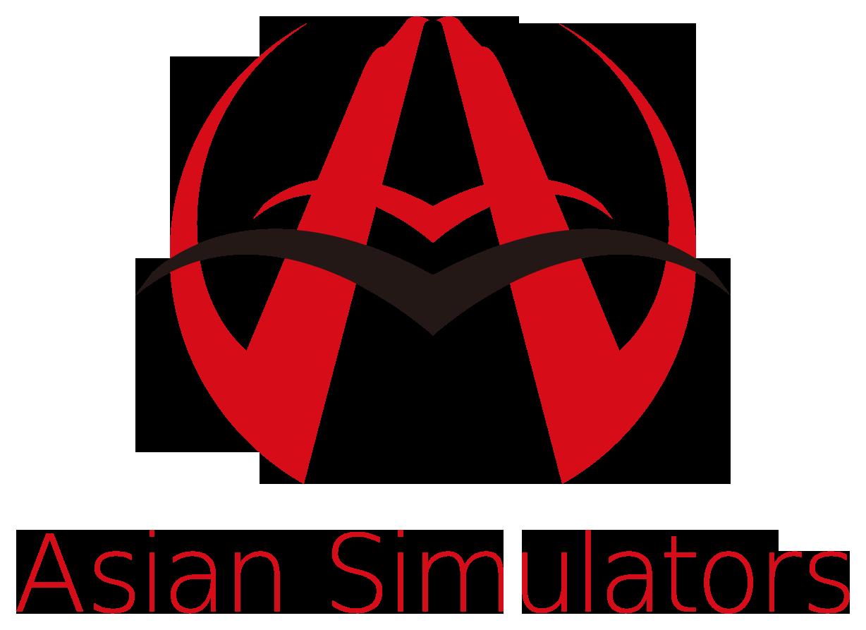 サービス業とシンプルと赤のロゴ