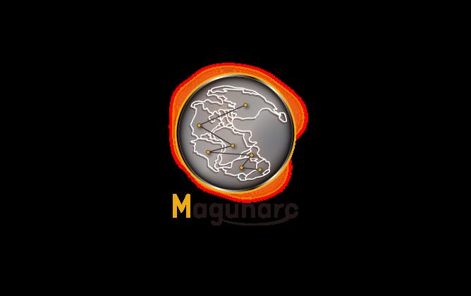 ソフトウェア・プログラム開発と立体的と黒のロゴ