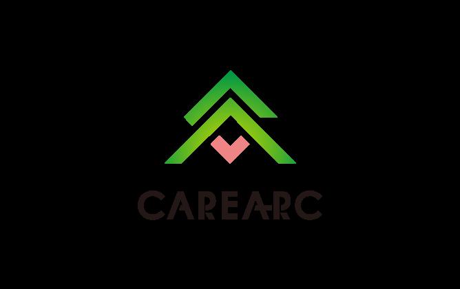 経営コンサルタントと堅め/堅実と緑のロゴ