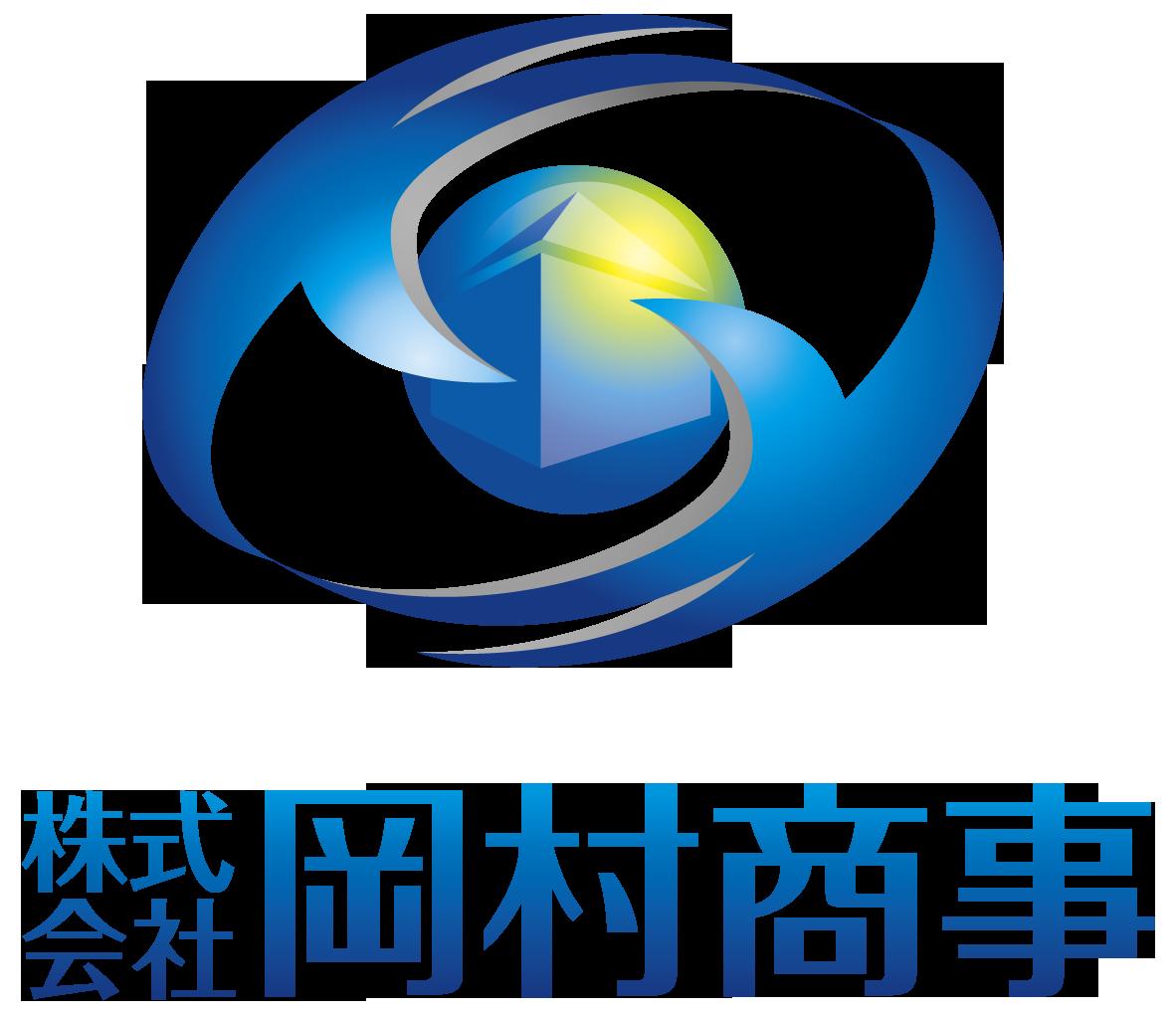 金融/保険/投資関連と近未来と青のロゴ