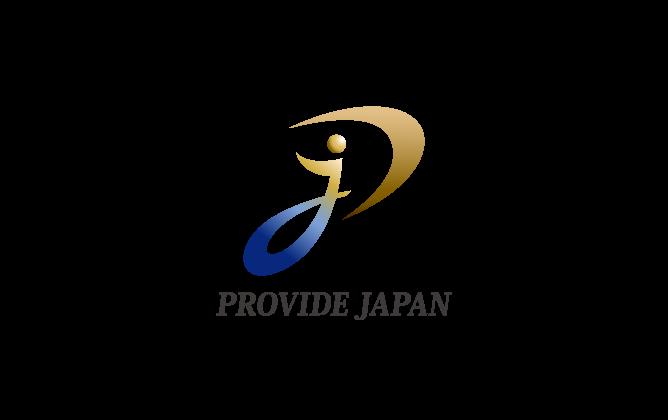 人材系サービスと高級感/気品とマルチカラーのロゴ