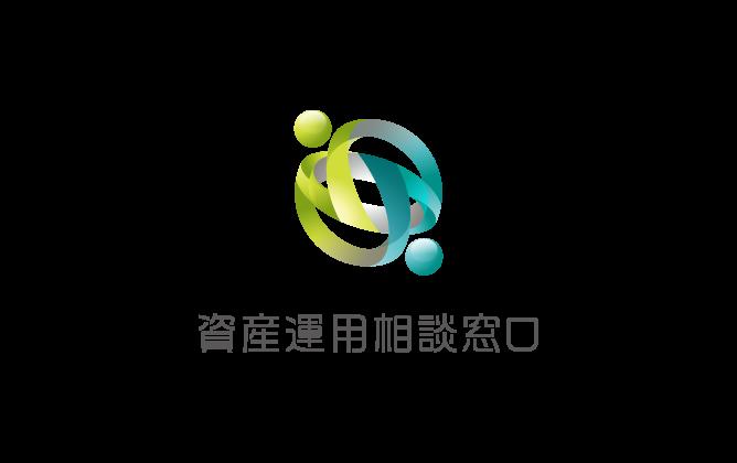 金融/保険/投資関連と近未来と緑のロゴ