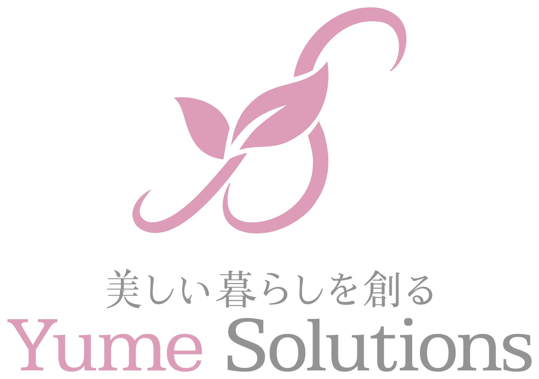 不動産業と綺麗/ 華やかとピンクのロゴ