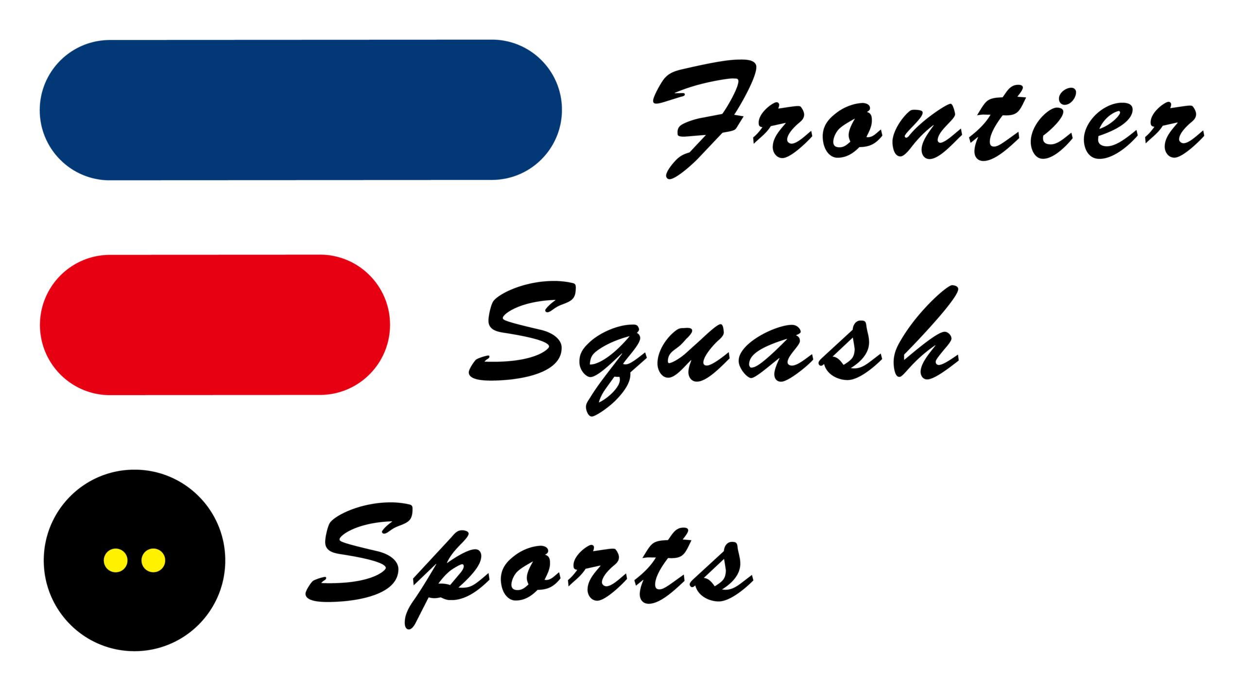 スポーツ系サービスとシンプルと茶のロゴ