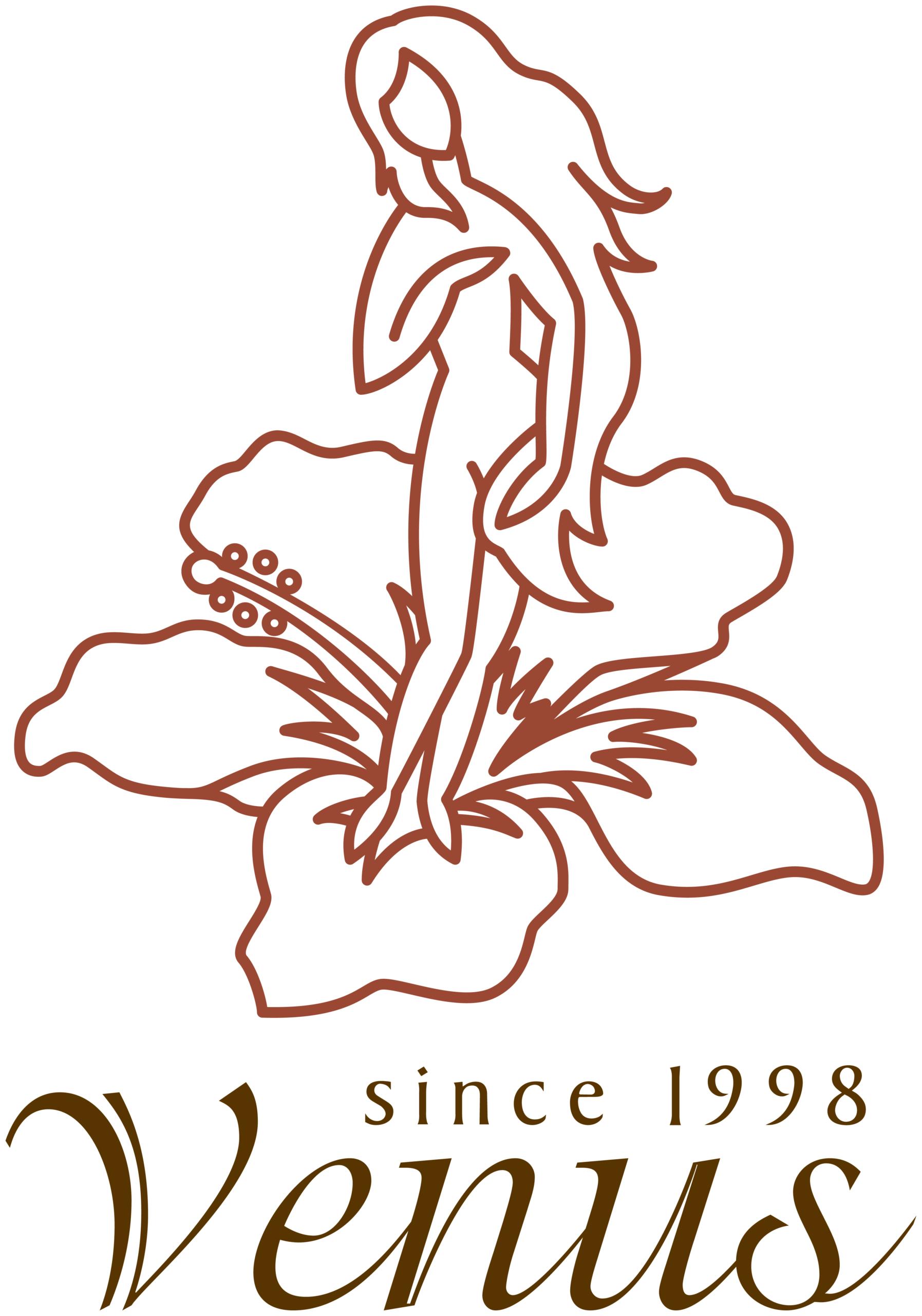 飲食業とイラストと茶のロゴ