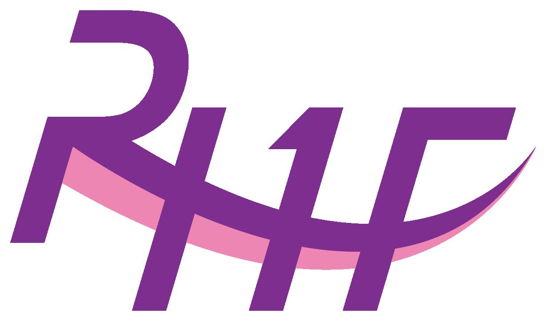 その他とイニシャルと紫のロゴ