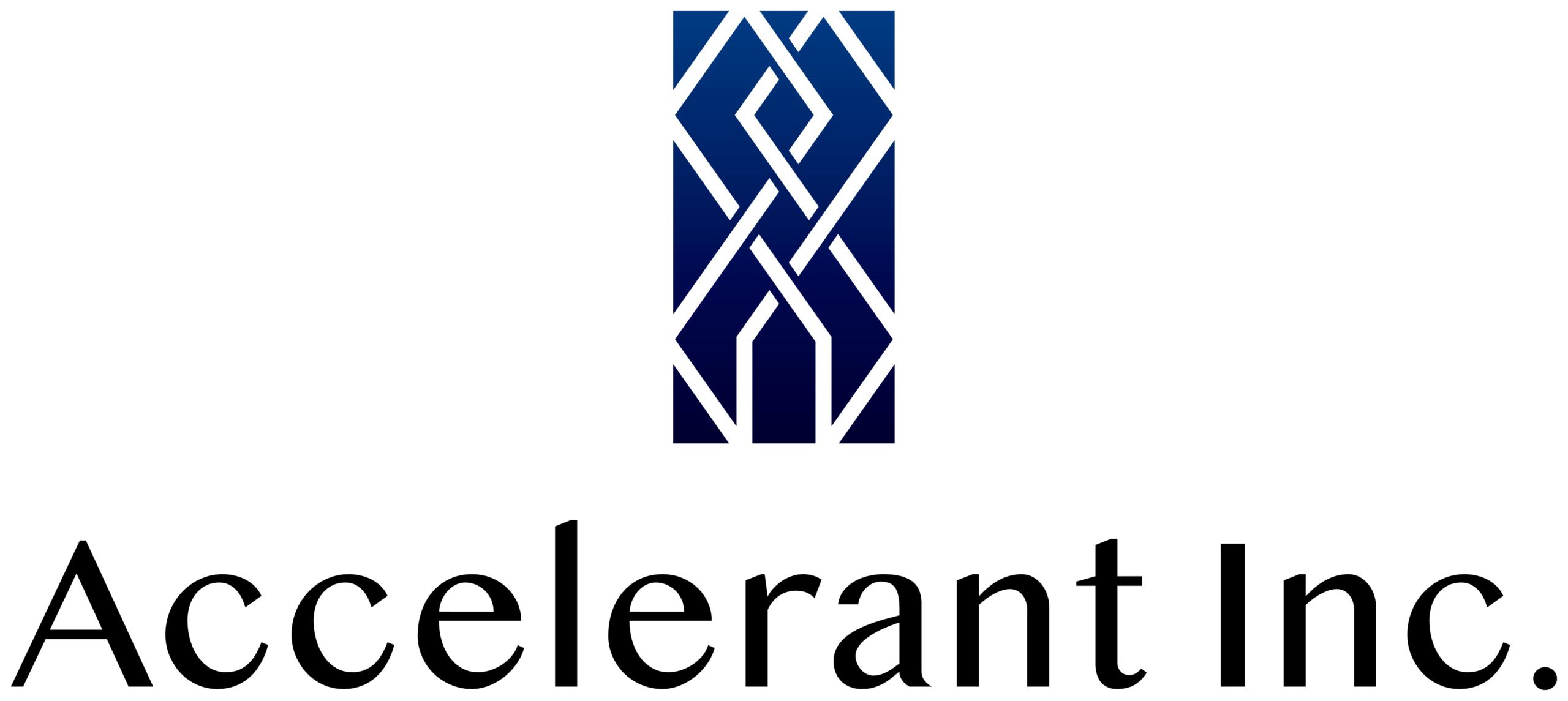 経営コンサルタントと高級感/気品と紺のロゴ