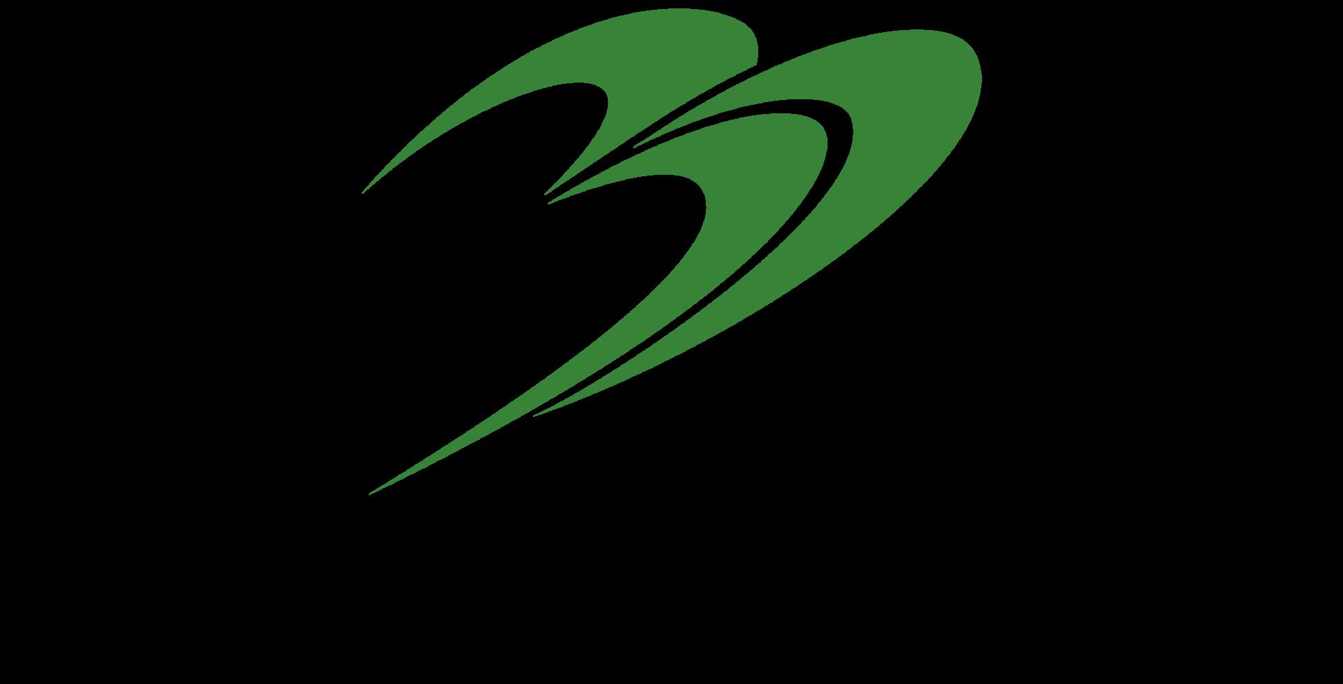 建築/建設/設備/設計/造園とシンプルと緑のロゴ
